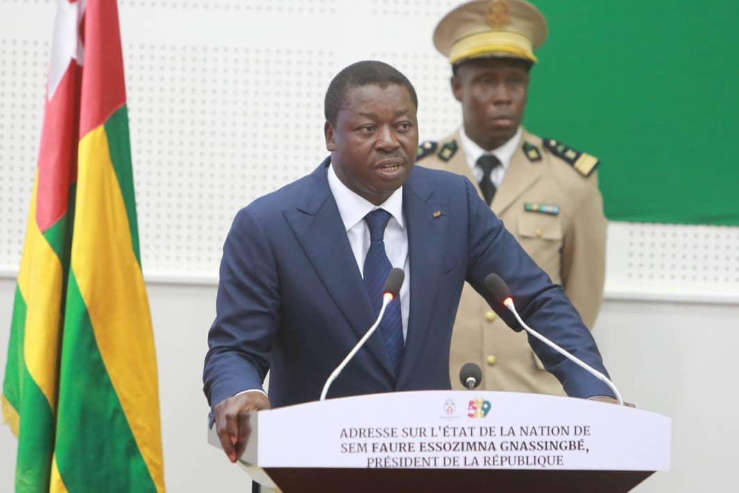 Discours sur l'Etat de la nation d'importantes annonces pour le peuple togolais 1
