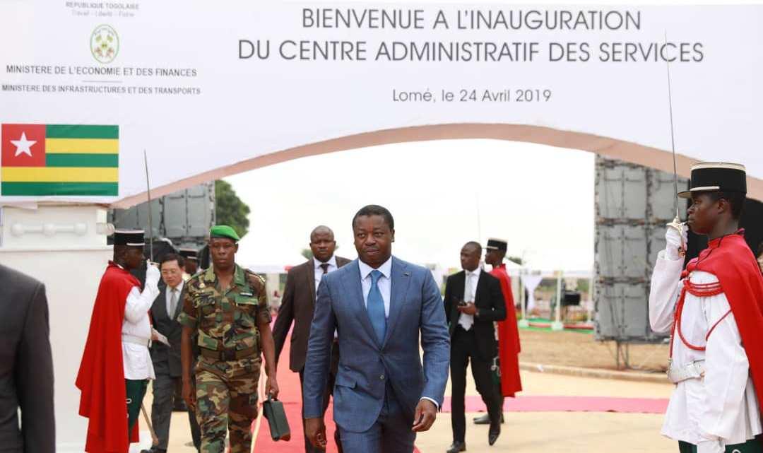 Inauguration dun nouveau centre administratif des services de Lomé