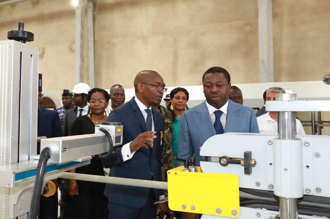 Une nouvelle usine de production de tuyaux plastics à Tsévié