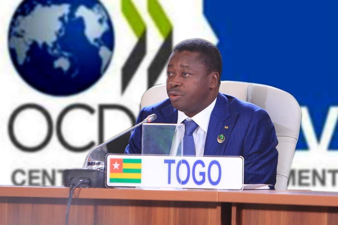 Le chef de lEtat se félicite du nouveau partenariat OCDE Togo