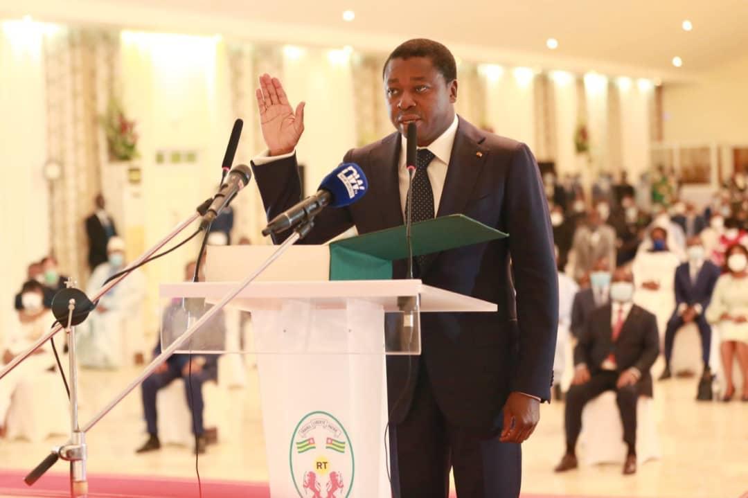 Le chef de l'Etat Faure Gnassingbé a prêté serment ce 03 mai 2020