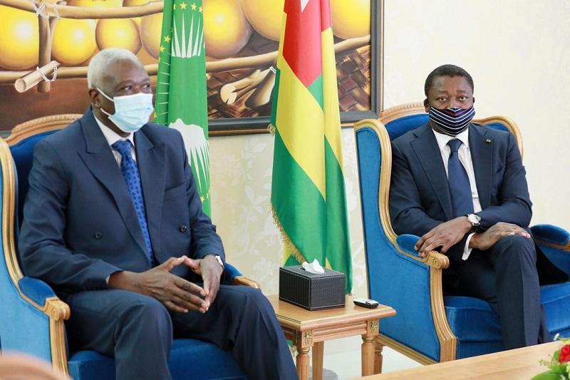 Cooperation Visite de travail du President de la transition malien a Lome