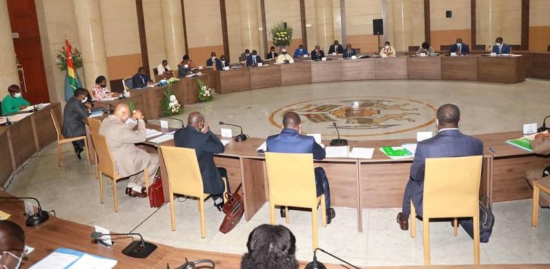 Conseil des ministres 2020