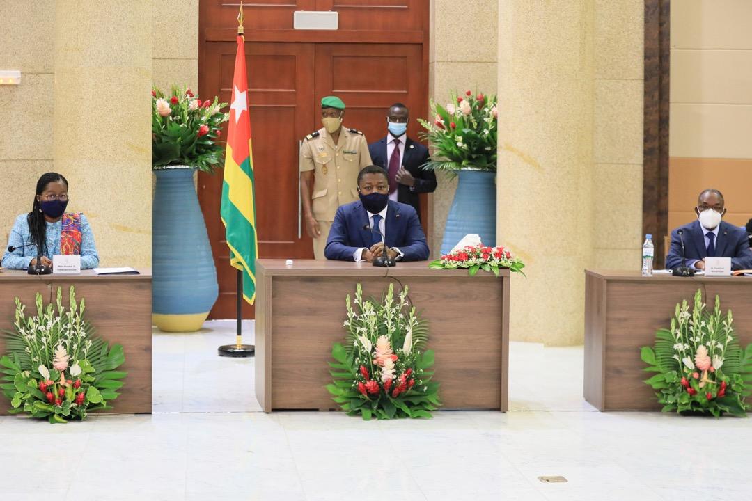 Le chef de lEtat a preside le deuxieme Conseil des ministres de lannee