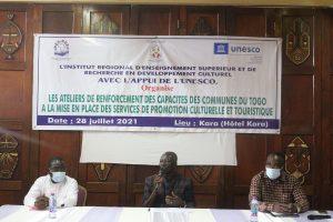 Promotion culturelle et touristique renforcement de capacite des responsables des services culturels des communes de la region de la Kara 1