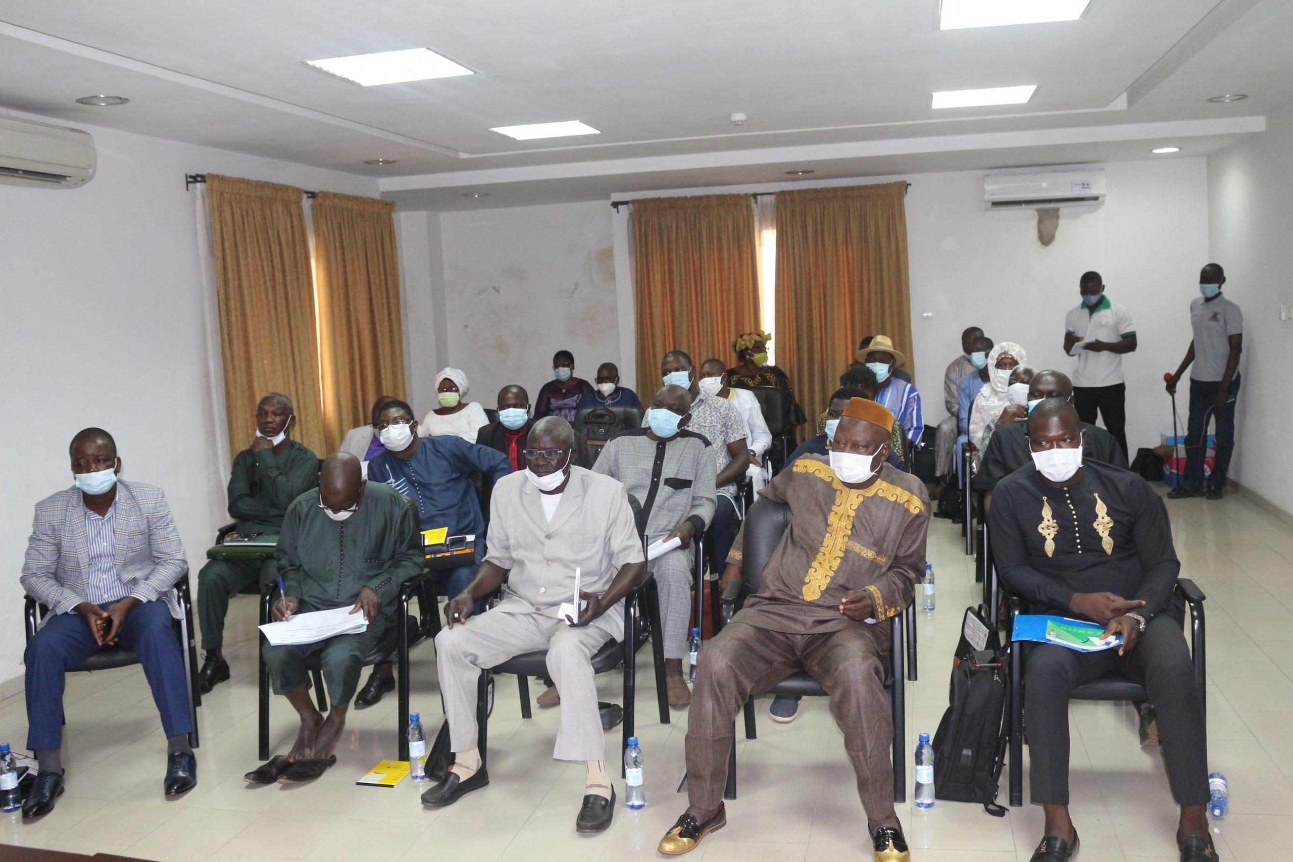 OTR Sensibilisation des Maires sur le recensement fiscal des contribuables pour la region de la Kara1 scaled